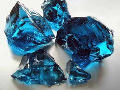glass rocks blue, good value, buy directly from manufacturer